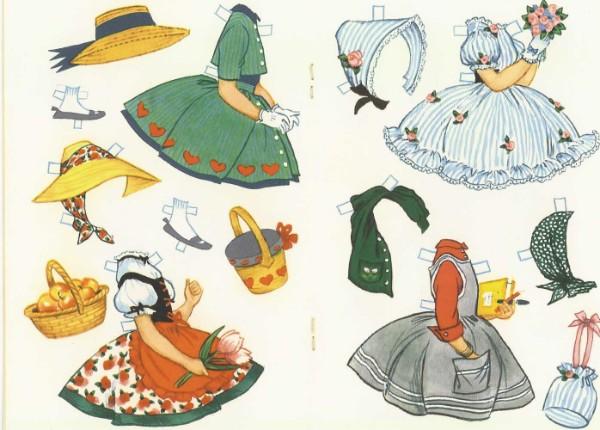 Leben Und Wohnen Kleidung Anziehpuppe Madchen 11